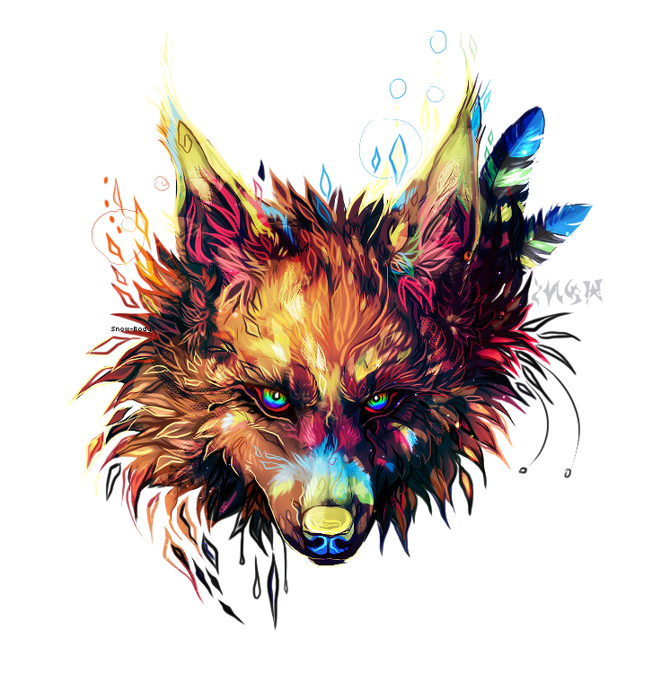 Warpaint by snow body on deviantart for Fire and ice tattoo shop