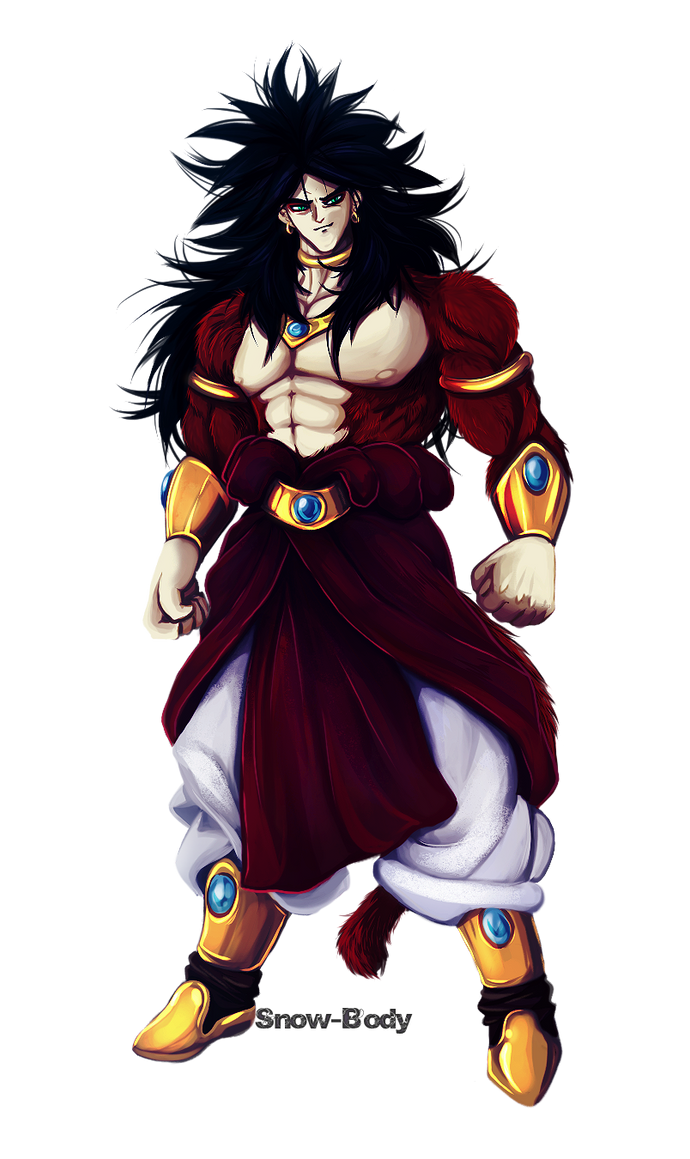 BROLY by Snow-Body