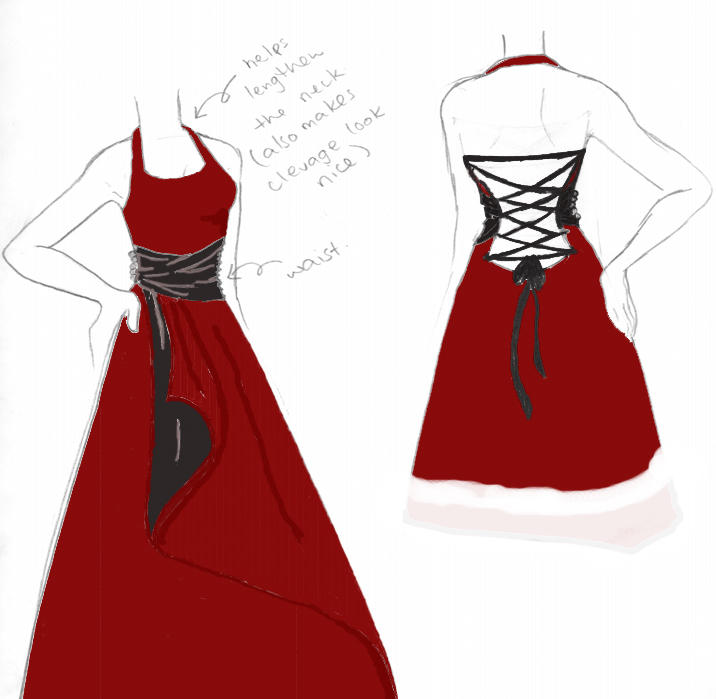 Dress 03 colour by pneumonic-desire