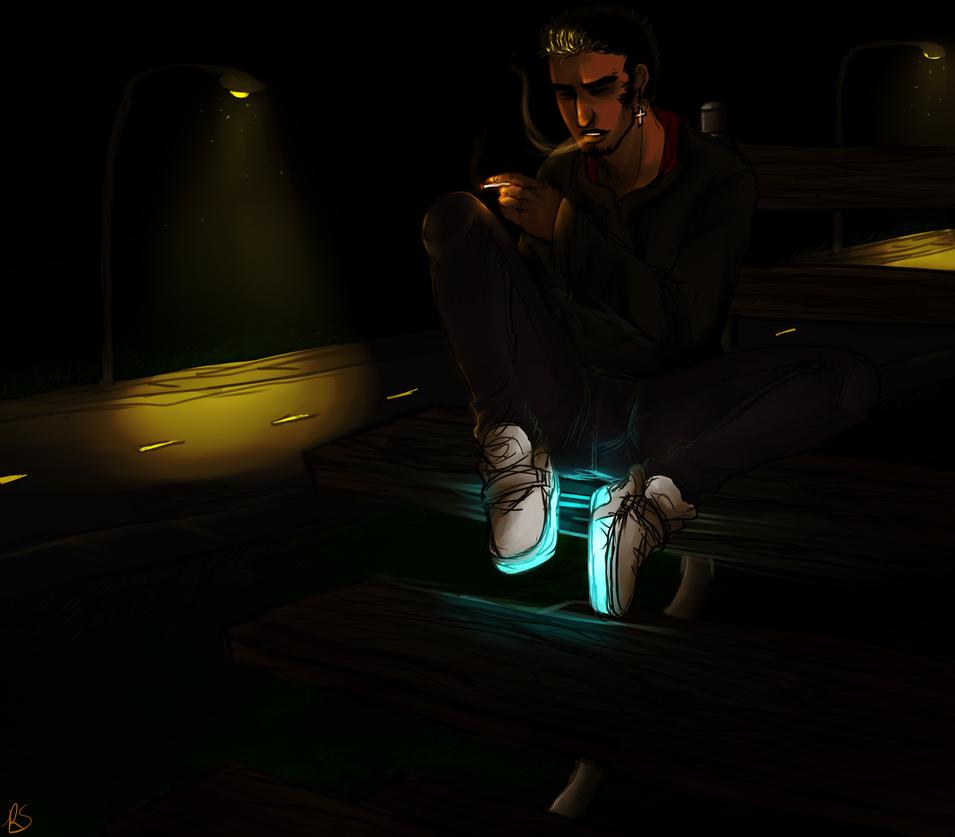 Havin A Smoke by RapturesSaviour