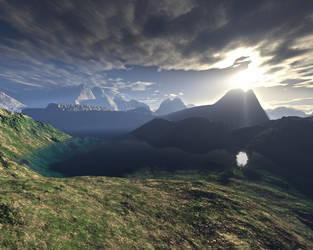 The Distant Hills Of EttenMoor by matrix7