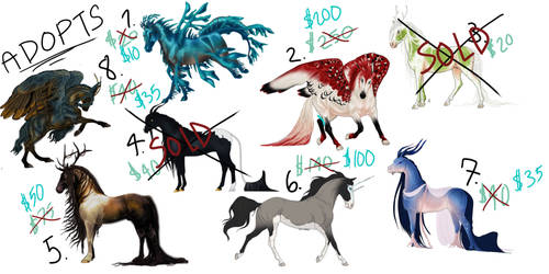 lowered Character Adopts!!
