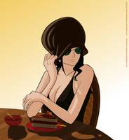 Nervous Robin by queenira