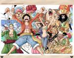 One Piece Color spread 598