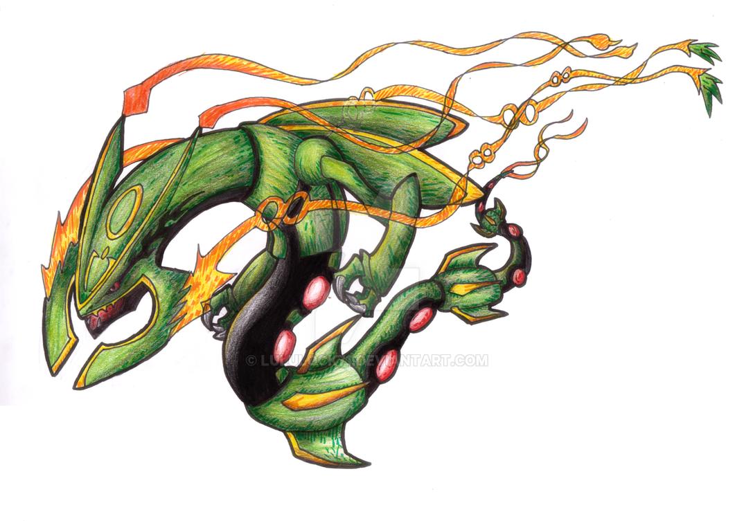 Mega dragon mega rayquaza fanart by lululock71 on deviantart - Lego pokemon rayquaza ...