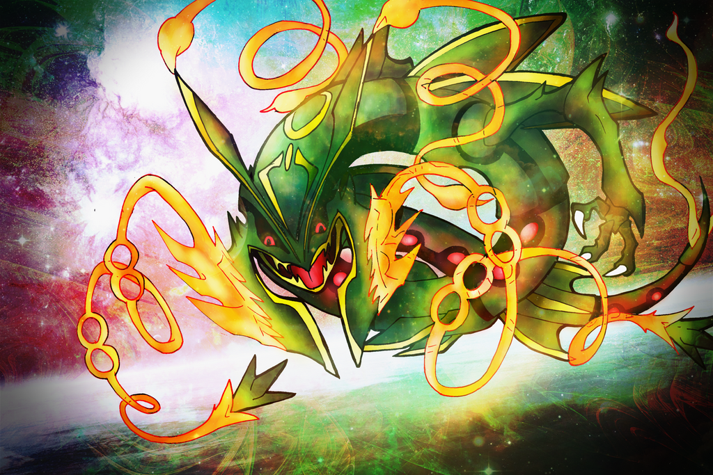 Another Mega-Rayquaza FanArt by lululock71 on DeviantArt