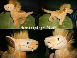 Nightstalker Custom Plush by TheNoTalentLoser