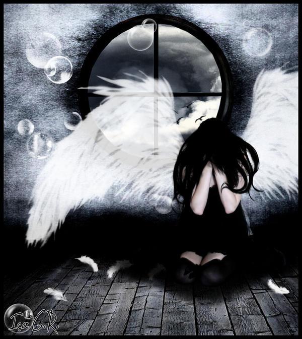 Despair of one angel by LadyPingu on DeviantArt