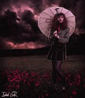 Poppy's Rain by LadyPingu