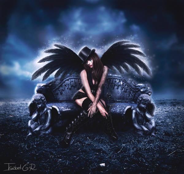 Stone Angel by LadyPingu