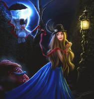 Let me guide you in Wonderland by LadyPingu