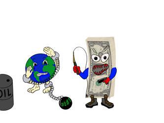 Moneyslave Earth by Devilangelo