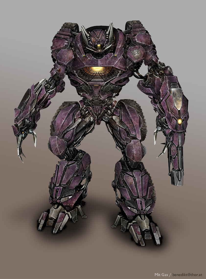 Shockwave Concept Art