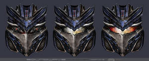 Soundwave Head Variations