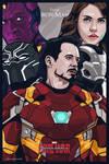 Captain America Civil War #teamironman