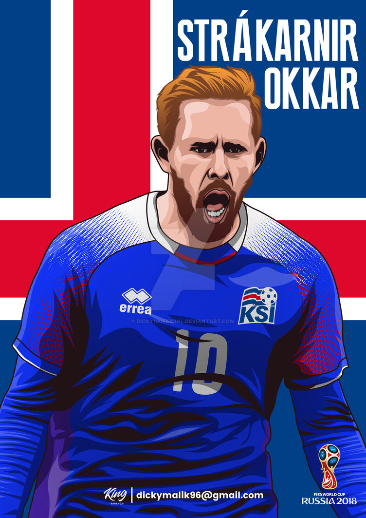 aae1e9f5fac Iceland - Gylfi Sigurdsson by dicky10official on DeviantArt