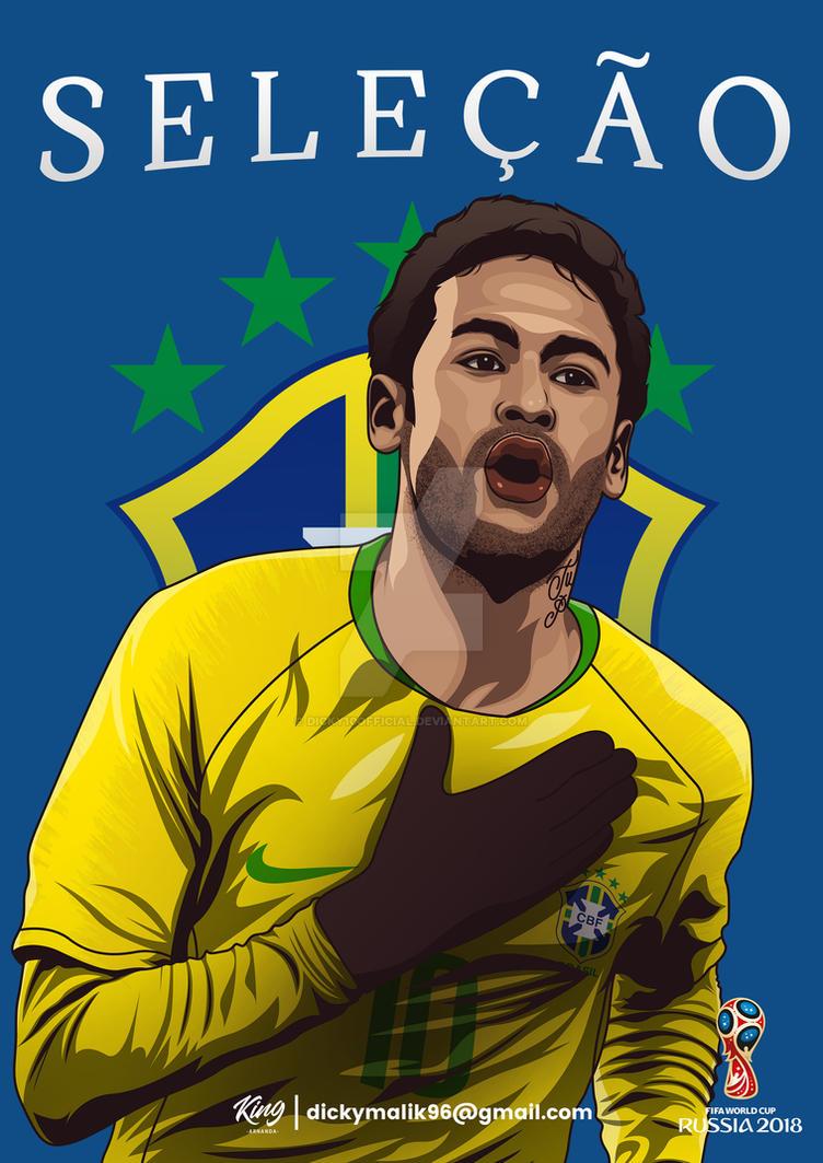 Brazil - Neymar Jr by dicky10official