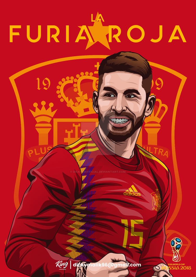 Spain - Sergio Ramos by dicky10official