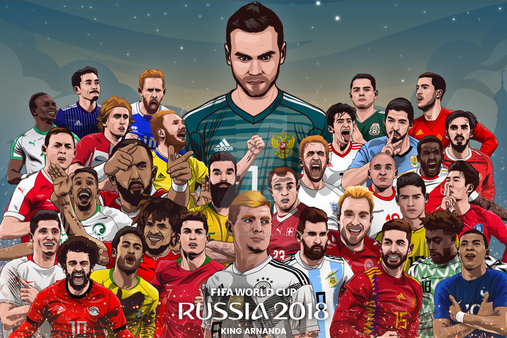 WORLD CUP 2018 KING ARNANDA PROJECT by dicky10official