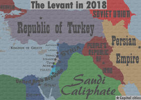 The Levant in 2018 - Seventh Party System
