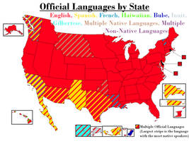Official Languages By State