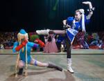Chun Li VS Cammy by Virchan