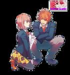 Haruka and Ittoki Render
