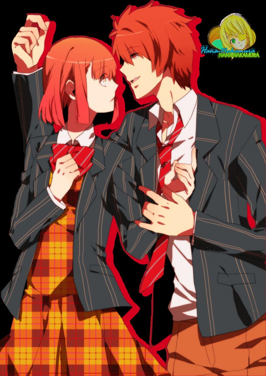 Ittoki and Nanami render by Hana-Nakamura