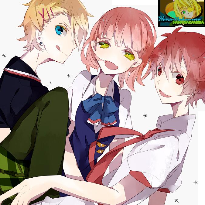 Otoya, Shou and Nanami Render by Hana-Nakamura