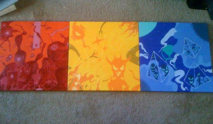 Primary Color Triptych