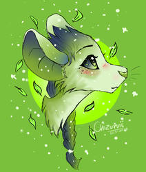 Leaf mouse by Chizuruii
