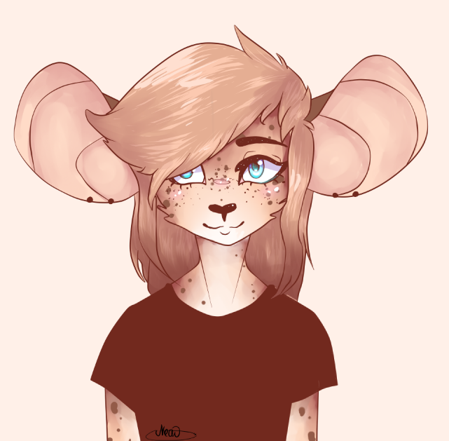 Leopard mouse by Chizuruii