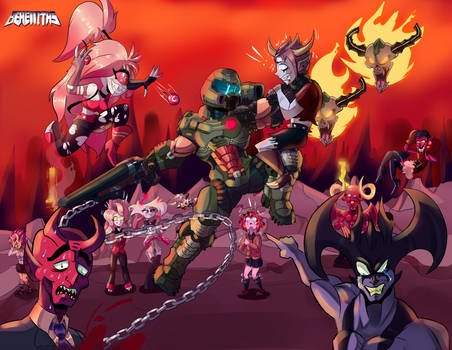Doom vs All demons