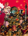 Doom Slayer And Canela