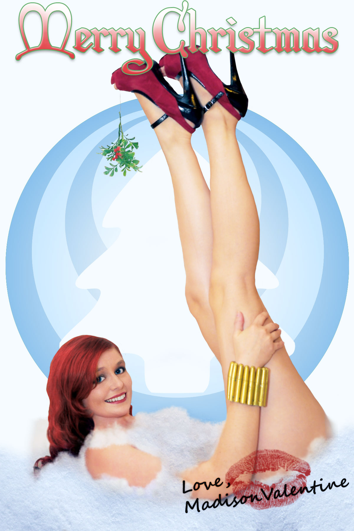 2011 Christmas Card from Madison by CosplayDeviants