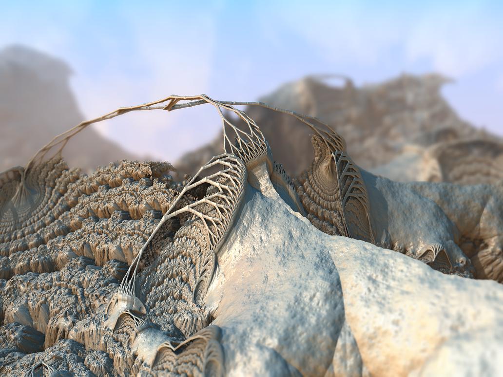 Stone Monsters by ennaginaxion