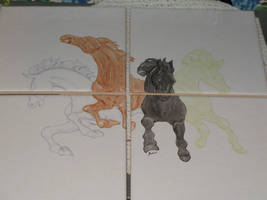 Four horses of the apocalypse 2