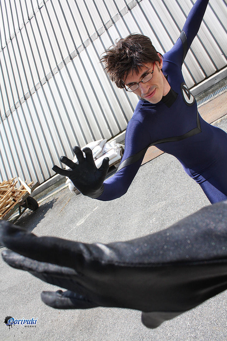 Jac as Mister Fantastic by Noriyuki83