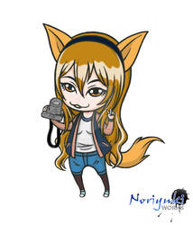 Gift: Chibi MrsFoxie (Color)