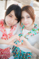YurikoTiger and ShioriCO (ComicsCity2017) 01