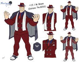Sketch: M Bison costume