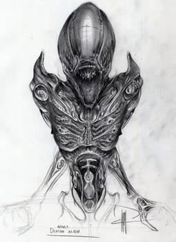 Adult Deacon Alien