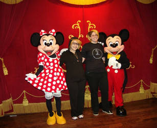 Ronald and Eric meet Mickey and Minnie by RegulusBlack