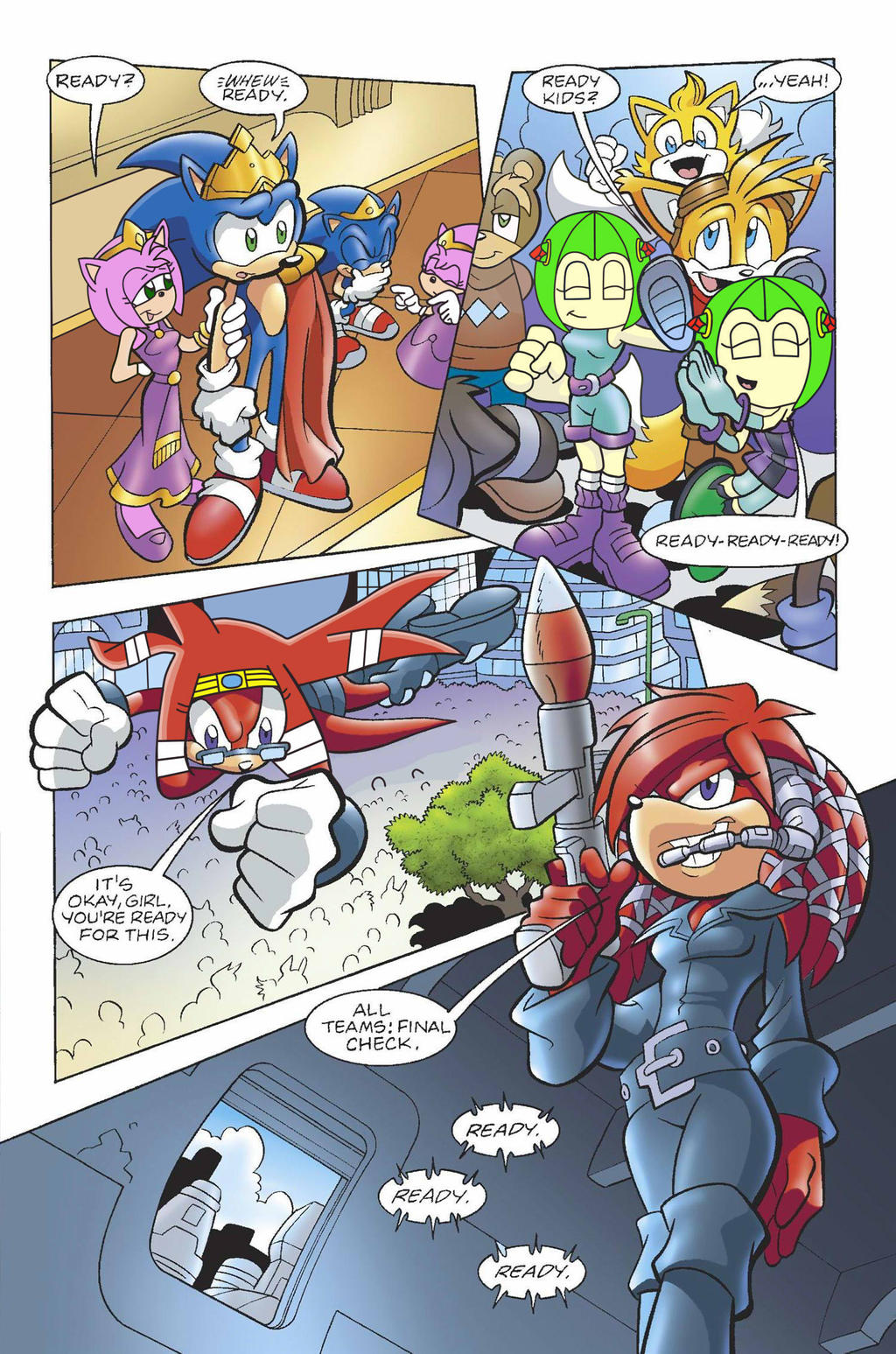 Cartoon Characters 30 Years Later : Mobius years later sonamy taismo knuxikal by