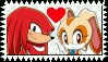 Knuckles X Cream Stamp by ameth18