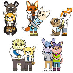 Aggretsuko: Preg Couples and Others