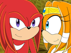 Knuckles And Tikal Sonic X