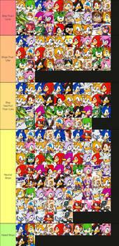 Sonic Ships Tier List