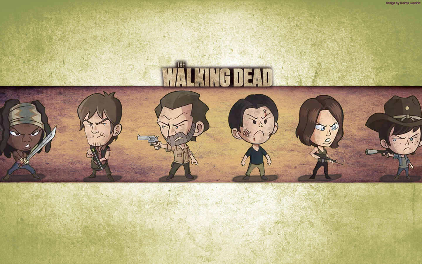 The Walking Dead Wallpaper 1440x900 By Kairosgraphic On