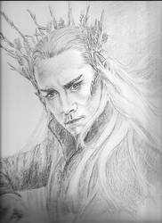 Thranduil by Powerfulwoodelf